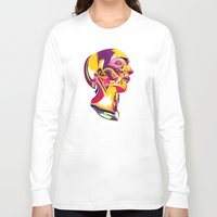 anatomy Long Sleeve T-shirts featuring Anatomy 220914 by Alvaro Tapia Hidalgo