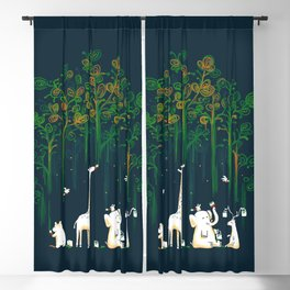 Re-paint the Forest Blackout Curtain