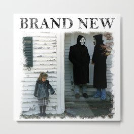 Brand New The Devil And God Are Raging Inside Me Metal Print