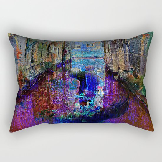 The gondolier Rectangular Pillow