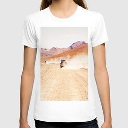 Road Racing Desert (Color) T-shirt