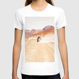 Road Racing Desert (Color) T-shirt