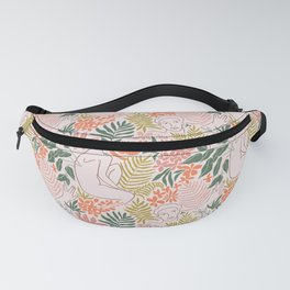 Wild tropical young woman Fanny Pack