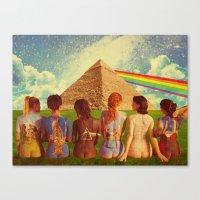 floyd Canvas Prints featuring Floyd by Rittsu