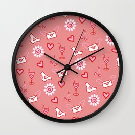 favourite things Wall Clock