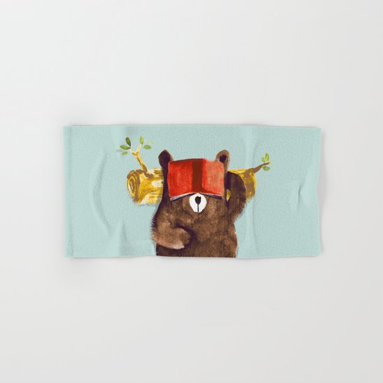 No Care Bear - My Sleepy Pet Hand & Bath Towel