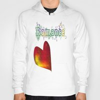 romance Hoodies featuring Romance by World Raven