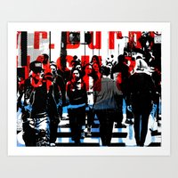 obey Art Prints featuring Obey by Deanna Fainelli