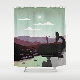 Norway 5 Shower Curtain