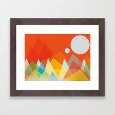 Landscape 102 Framed Art Print