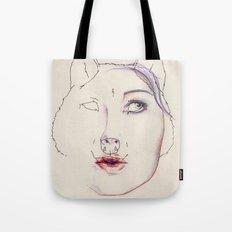 Attentive Tote Bag