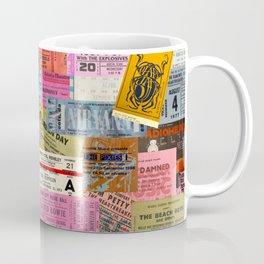 I miss concerts - ticket stubs Coffee Mug