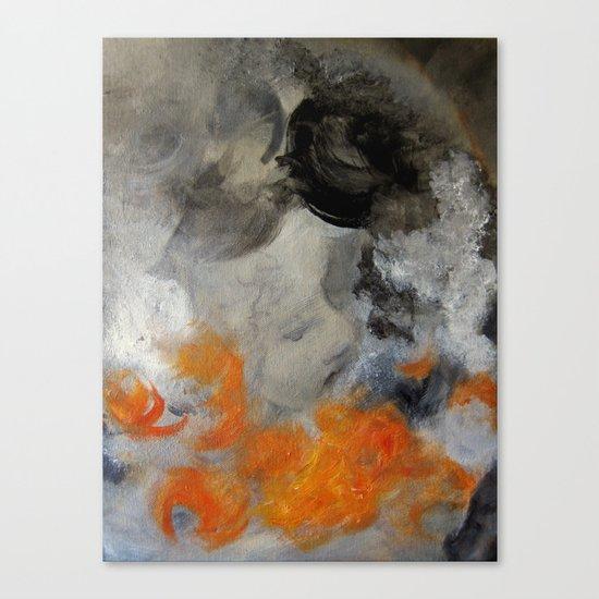 empty hurricane fires Canvas Print