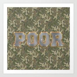 Hood Rich Art Print