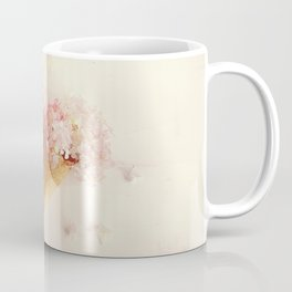 fresh flowers in ice cream cone Coffee Mug