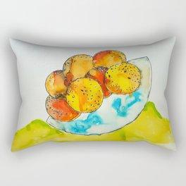 Juicy Orange Bowl Rectangular Pillow