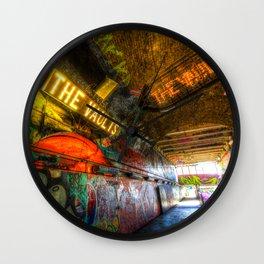 Leake Street London Vault Wall Clock