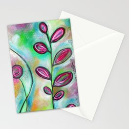 """""""Just a Relaxing Day""""   original painting by Mimi Bondi Stationery Cards"""