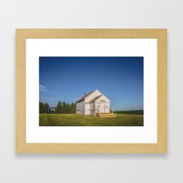 Ingersoll School, North Dakota 5 Framed Art Print