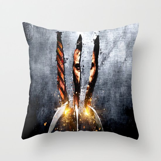 The Weapon XFactor Throw Pillow