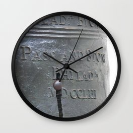 Liberty Bell Philadelphia Wall Clock