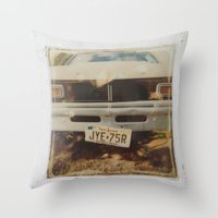 ford Throw Pillows featuring Ford by Michael Shepherd
