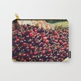 Summer Cherries Carry-All Pouch