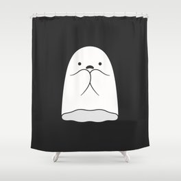 The Horror / Scared Ghost Shower Curtain
