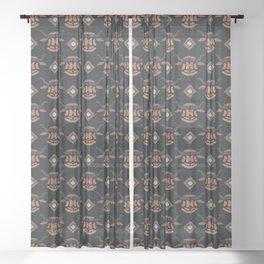 Yakety Yak Yak Sheer Curtain