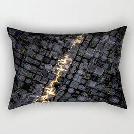 Fast lane city Rectangular Pillow