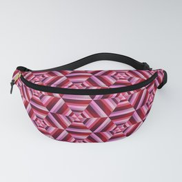 Psychedelic Wine Seamless Pattern Fanny Pack