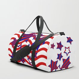 Stars and Stripes Forever Duffle Bag