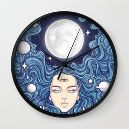 Trippy Chicks Wall Clock