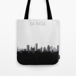 City Skylines: Baltimore (Alternative) Tote Bag