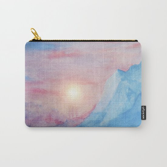 Pastel vibes watercolor 02 Carry-All Pouch