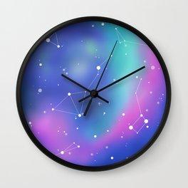 Unicorn Night Sky Wall Clock