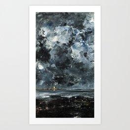 August Strindberg - The Town Art Print