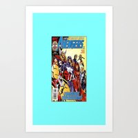 comic Art Prints featuring comic by Kathead Tarot/David Rivera