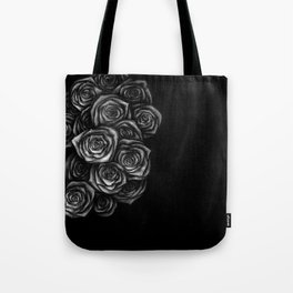 Roses Illustration Tote Bag