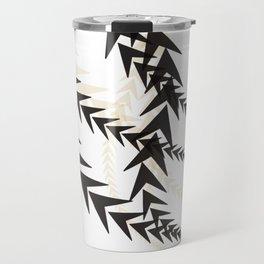 Abstract Arrow Travel Mug