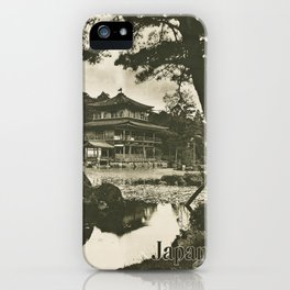 Vintage poster - Japan iPhone Case