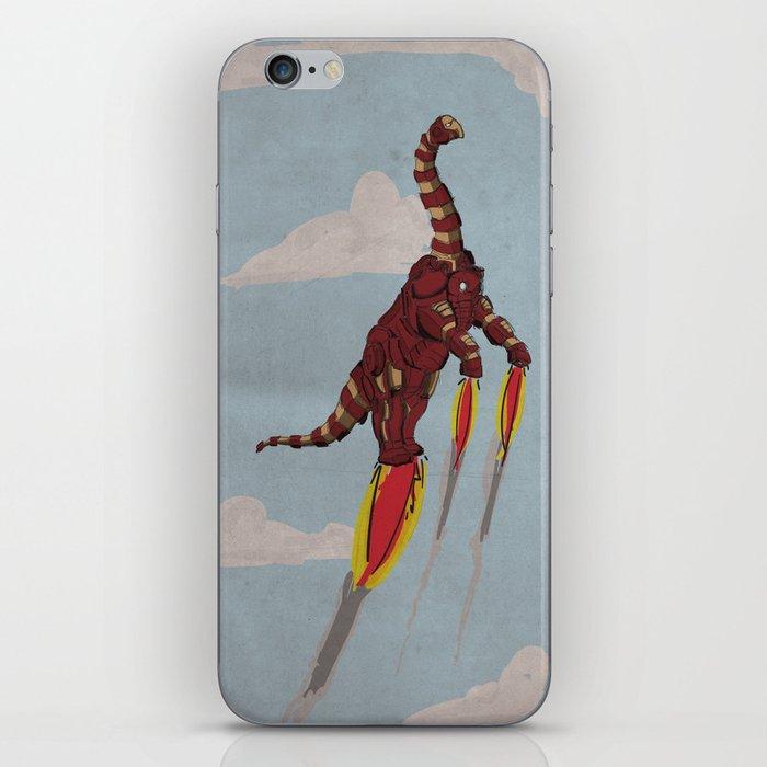 Iron Brontosaurus - Superhero Dinosaurs Series iPhone Skin