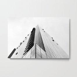 Pyramid of Glass Metal Print