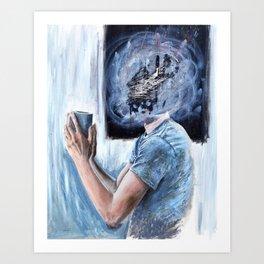 Mourning Window Art Print