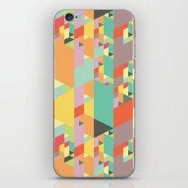 Pastel City iPhone Skin