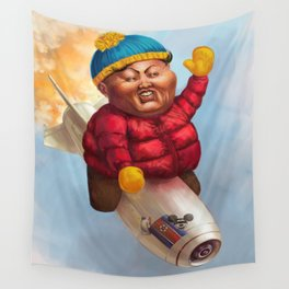 """Respect My Authoritah!"" Wall Tapestry"