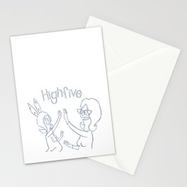 high 5 Stationery Cards