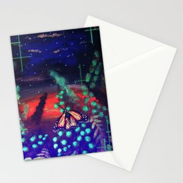 A Monarch Night Stationery Cards