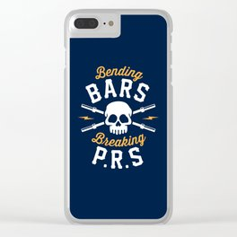 Bending Bars Breaking PRs Clear iPhone Case