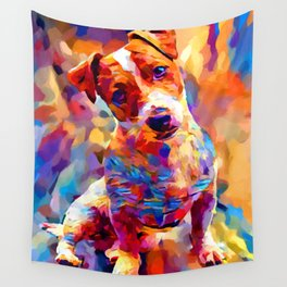 Jack Russell Terrier 3 Wall Tapestry